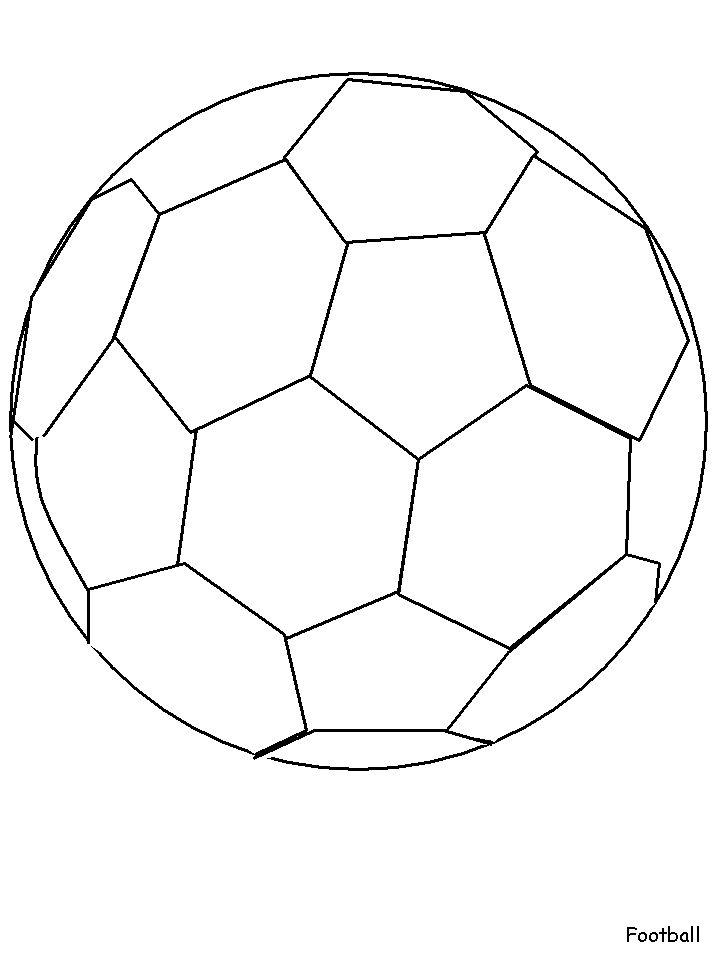 football coloring football