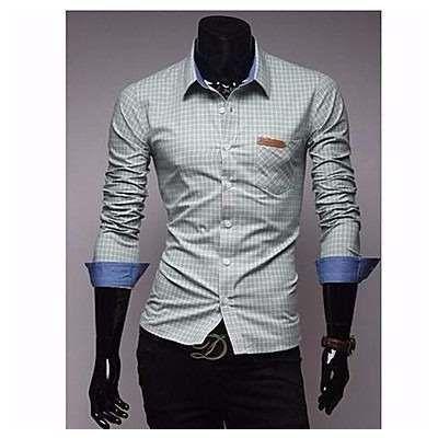 Camisa Manga Longa Social Grife  Vska  Masculina Lançamento - R$ 189,90