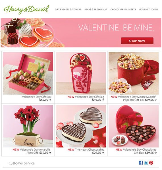 Valentine S Day Email Ideas For Any Business Valentine S Day