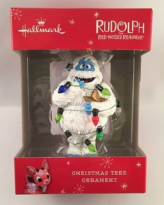 Hallmark Bumble Abominable Snowman Lights Ornament Rudolph 2015 NIB New