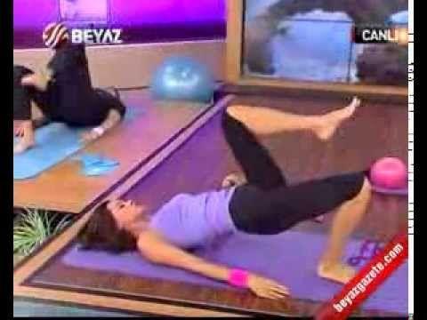 Ebru Şallı İle Pilates (Plates) Ebruli 30.10.2012