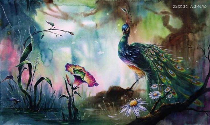 Zazac Namoo watercolour