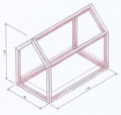 Resultado de imagen para medidas cama montessoriana