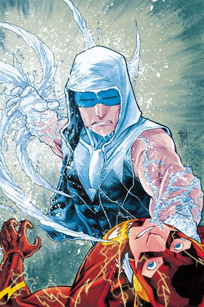 The Flash #6 - Captain Cold is back! He's my favorite Flash villian.  I'm a big fan of his Rogue's Gallery but Captain Cold is tops on my list!