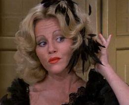 As Lili Von Shtupp – Blazing Saddles, the wonderful Madeline Kahn. (September 29, 1942 to 3 December 1999)