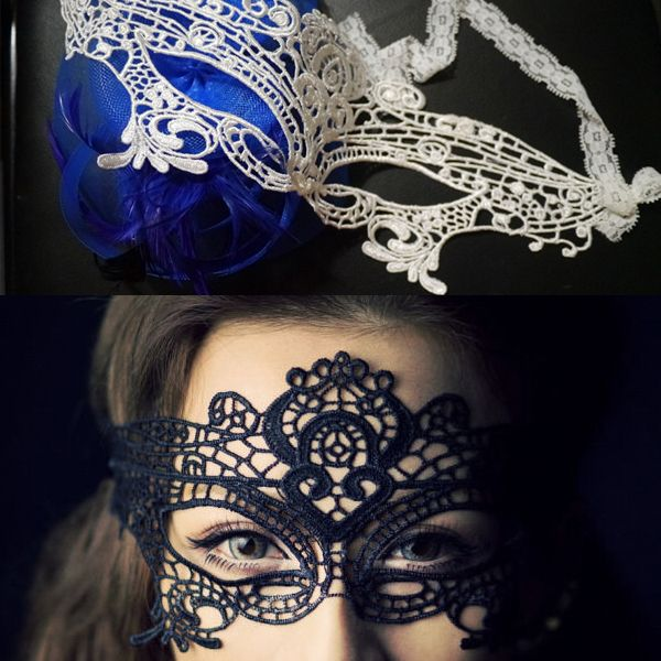 Mulheres elegantes do laço Eye Máscara Facial Bola de disfarce Prom Halloween Costume presente [240140] € 2,98