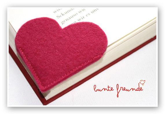 What a cute idea for a bookmark!