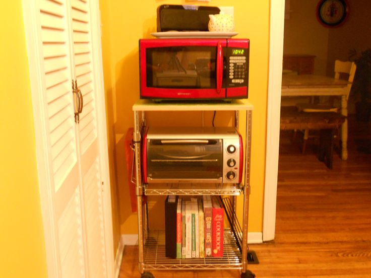 Microwave Toaster Oven Cart   Google Search