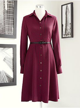 Eva Mendes Collection - Pia Prairie Shirtdress from New York & Company