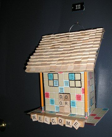 Craftsters Resuscitate Old SCRABBLE Boards Back to Life « SCRABBLE