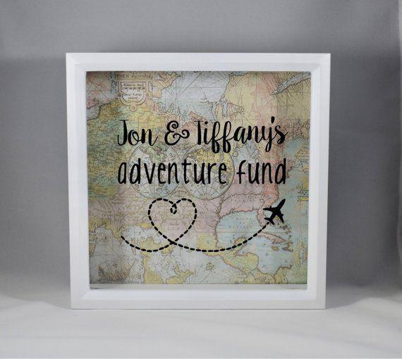Personalized Adventure Fund World Map Pastel