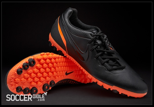 Nike 5 Bomba Finale Football Trainers - Black/Black/Total Orange - Football Boots