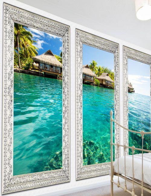 Carta da Parati Isola Solitaria Carta da Parati Fotomurale Tema Paesaggi