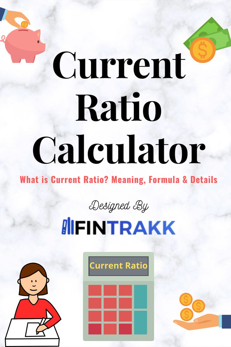 Current ratio calculator formula meaning online