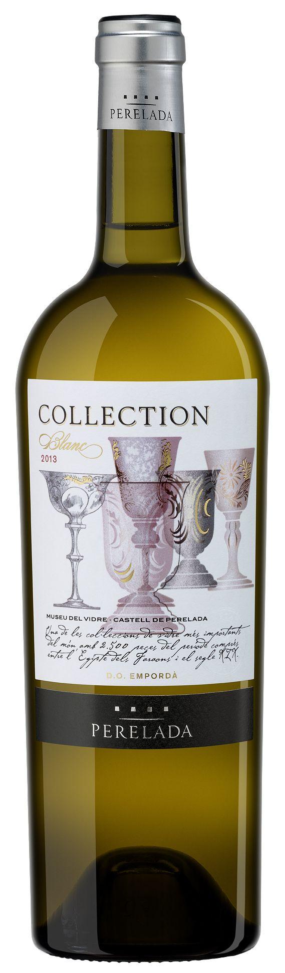 Nuevo Perelada Collection: Chardonnay +  Sauvignon Blanc, parcialmente envejecido en barricas de acacia.  Nou Perelada Collection: Chardonnay +  Sauvignon Blanc, parcialment envellit dins bótes d'acàcia.  New Perelada Collection: Chardonnay +  Sauvignon Blanc, partially aged in acacia barrels.