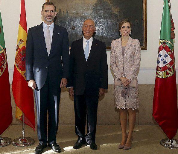 King Felipe and Queen Letizia.   28-11-2016