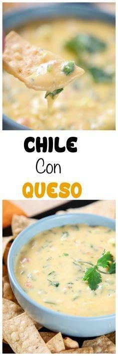 Chile Con Queso Dip: Chile Con Queso Dip: Melty gooey cheese dip...  Chile Con Queso Dip: Chile Con Queso Dip: Melty gooey cheese dip that is perfect for Taco Tuesday! 100% from scratch no Velveeta or other processed cheese. Recipe : http://ift.tt/1hGiZgA And @ItsNutella  http://ift.tt/2v8iUYW
