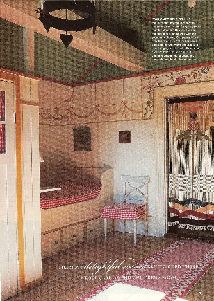 Authentic Swedish Cottage  Carl Larrson's Home, Sweden