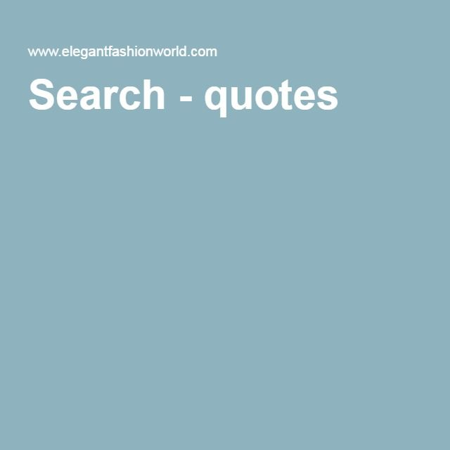 Search - quotes