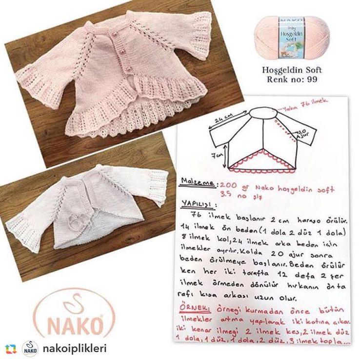 #GPRepost,#reposter,#notetag @nakoiplikleri via @GPRepostApp ======> @nakoiplikleri:#işinsırrıderyada bugün Nako günü! Sibel Kavaklıoğlu'nun hazırladığı Bebek hırkası Nako Hoşgeldin Soft (3.5 no şiş) kullanılarak hazırlandı. @deryabaykal #nakoiplikeri #nakoileörüyorum #nako #sevgiyleörüyorum #sevgiyle #sevgiyleörüyoruz #bebek #hırka #baby #cardigan #knit #knitting #örgüaşkı #örgü #handmade #handknitting #handknittingyarn #iplik #yarn #tvprogram #pattern #açıklama #babyfashion #bebe