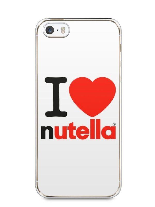 Capa Iphone 5/S I Love Nutella - SmartCases - Acessórios para celulares e…