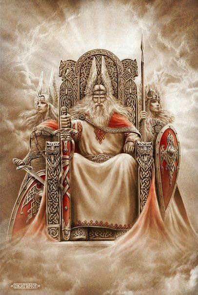 Rod- Slavic myth: the supreme, Primordial God that created the whole universe and all the life in it.