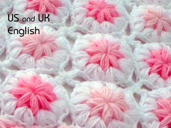 Puff Crochet Afghan Patterns