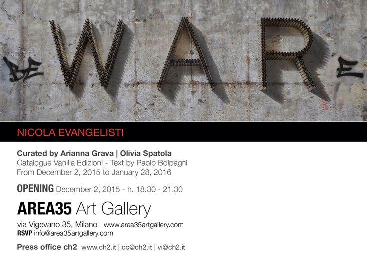 #BEWARE #NicolaEvangelisti #Area35ArtGallery #exhibition #contemporaryart #Milan