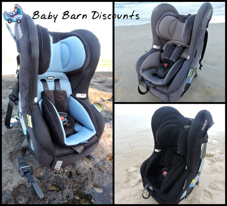 Safe n Sound Slimm-Line AHR ISOFIX Convertible infant car seat comes in various colours (Black, Grey, Saphire)