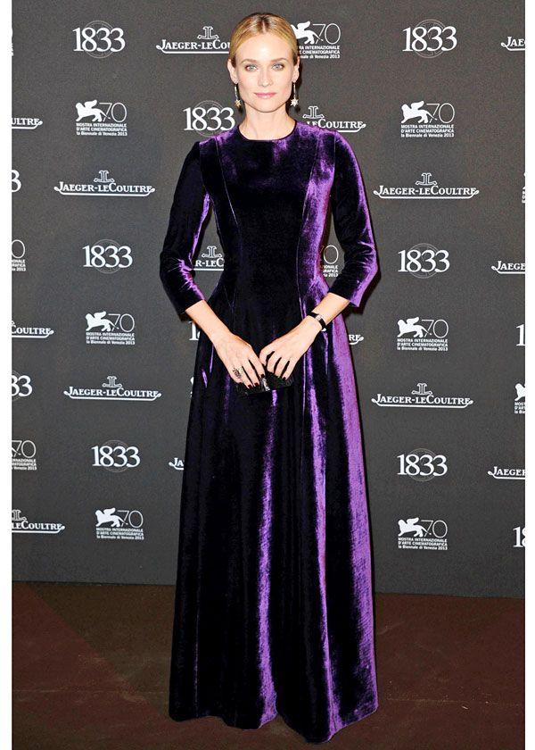Diane Kruger in Alberta Ferretti - At the Jaeger-LeCoultre Gala Dinner.  (September 2013)