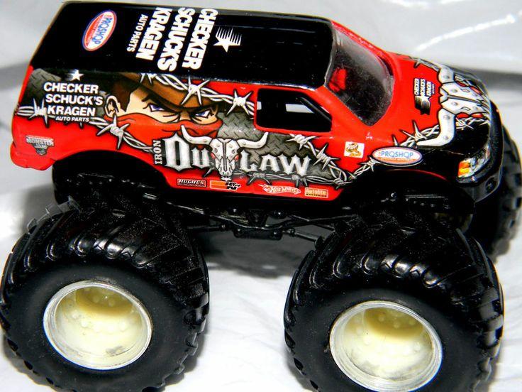 Hot Wheels Monster Jam Gun Slinger #44/70 1:64 Diecast ...