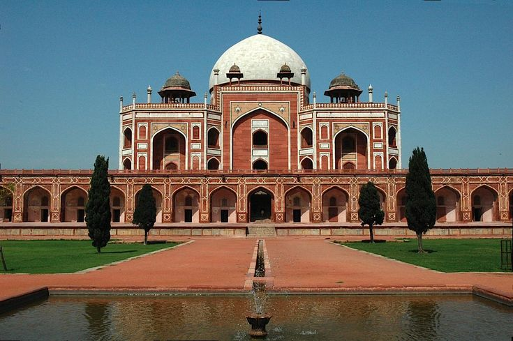 Humayun's Tomb in New Delhi, Delhi is a World Heritage Site.