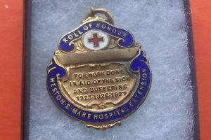 ROL-OF-HONOUR-WESTON-S-MARE-HOSPITAL-EXTENSION-BADGE-BOXED