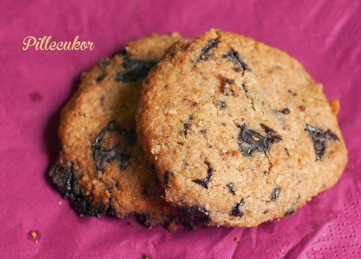 Pillecukor ♥: Csokis omlós keksz (paleo)