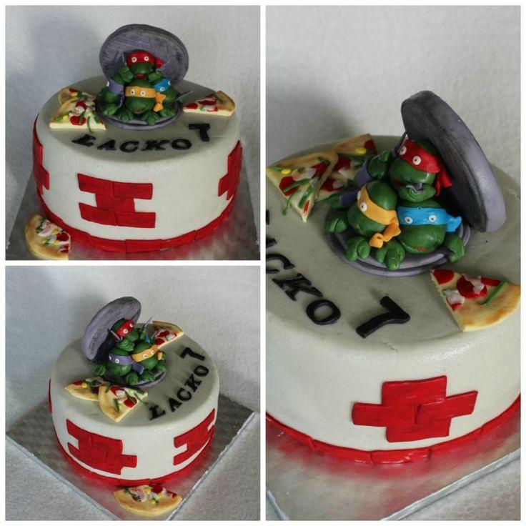 27 best Ninja Turtles Cakes images on Pinterest Ninja ...
