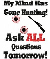 funny deer hunting quotes | shirt Sayings 5 Hunting 5x7 :: Signs & Sayings :: Dollarstitch.com