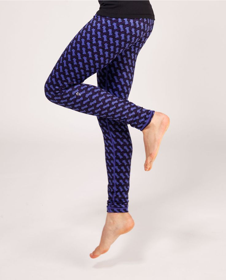bust a move in four-way stretch, sweat-wicking tights. | Rhythmic Tight