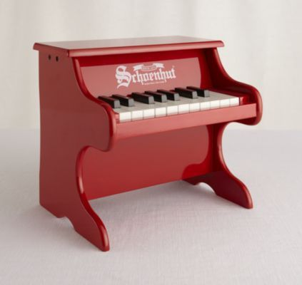 Wolfgang Amadeus Jr. Piano (Red)  | The Land of Nod Andrew would love this piano!