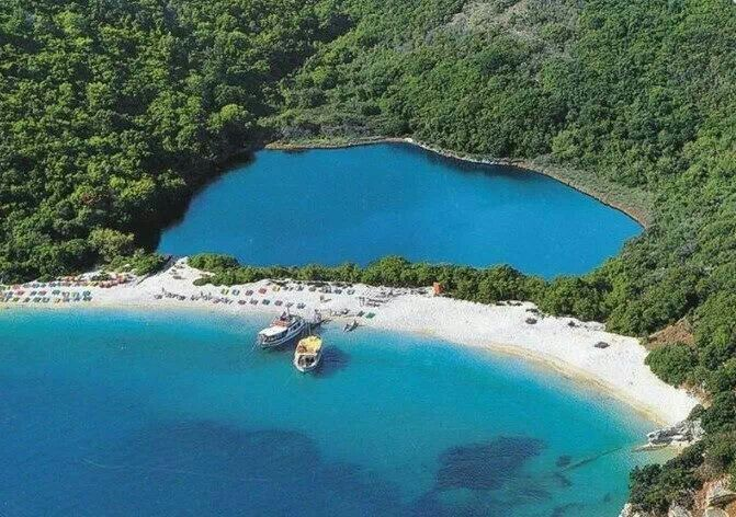 GREECE CHANNEL | Blue lagoon beach, Corfu