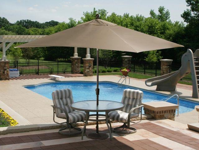 Haus Und Garten 10 Innovationen Fur Den Garten Die Sehenswert Sind Patio Umbrellas Patio Market Umbrella