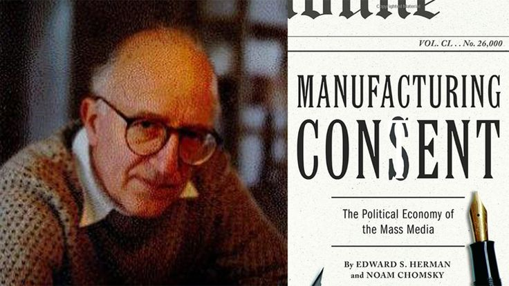 """We need a new """"Manufacturing Consent"""""""