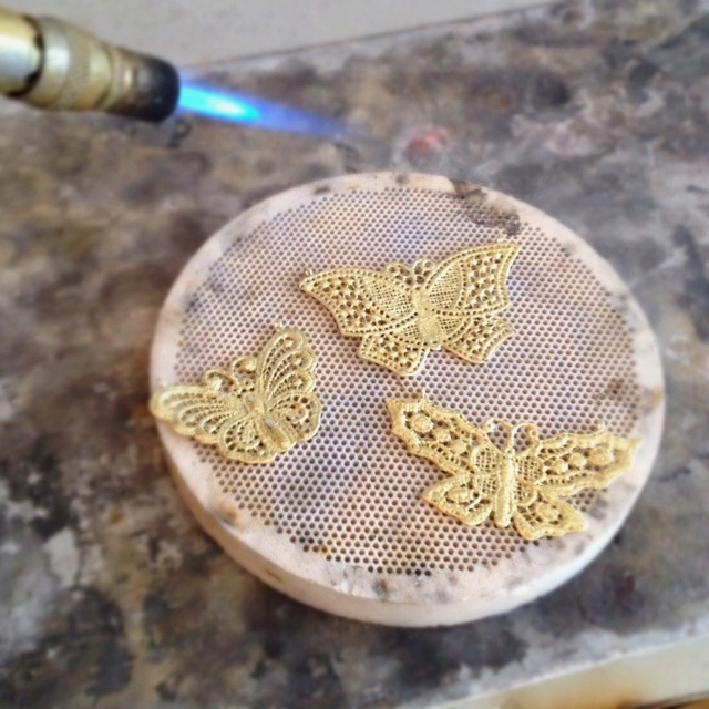 Butterflies #jewelry #bench