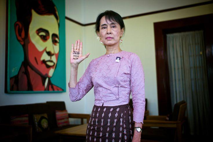portraits of burma's political prisoners by james mackay: James Of Arci, Aung San, I M Free, Politics Prison, Nobel Peace Prizes, James Mackay, Suu Kyi, 15 Years, San Suu