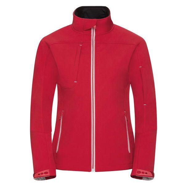 Ladies Bionic Softshell Jacke Werbeartikel Werbemittel Kundengeschenke Firmengeschenke Softshell Jacke Jacken Damen Lady