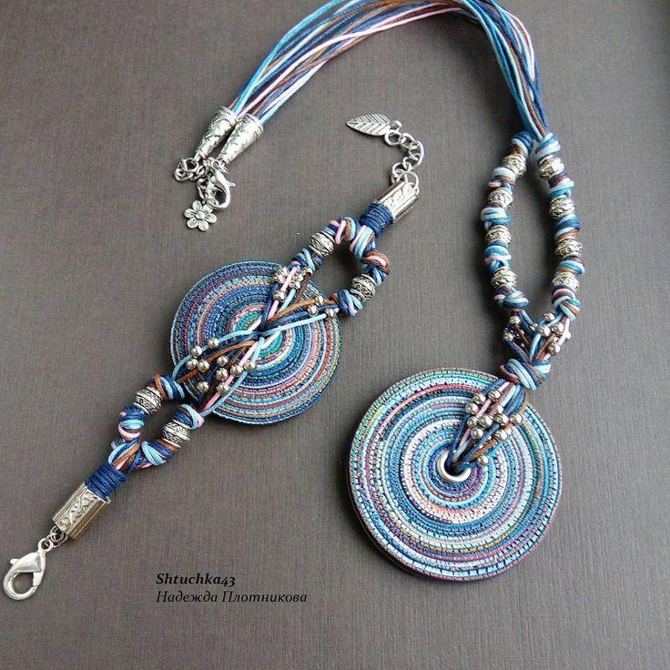 Сделано на заказ. #комплектукрашений #штучка43 #ручнаяработа #polymerclay #hendmade #hendmade_ru_jewellery #shtuchka43 #polymerclayjewelry #украшениеназаказ #полимернаяглина