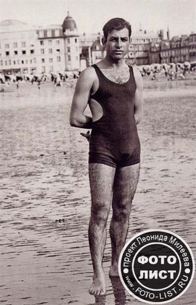 Фото купальных костюмов мужчин начала 20 в