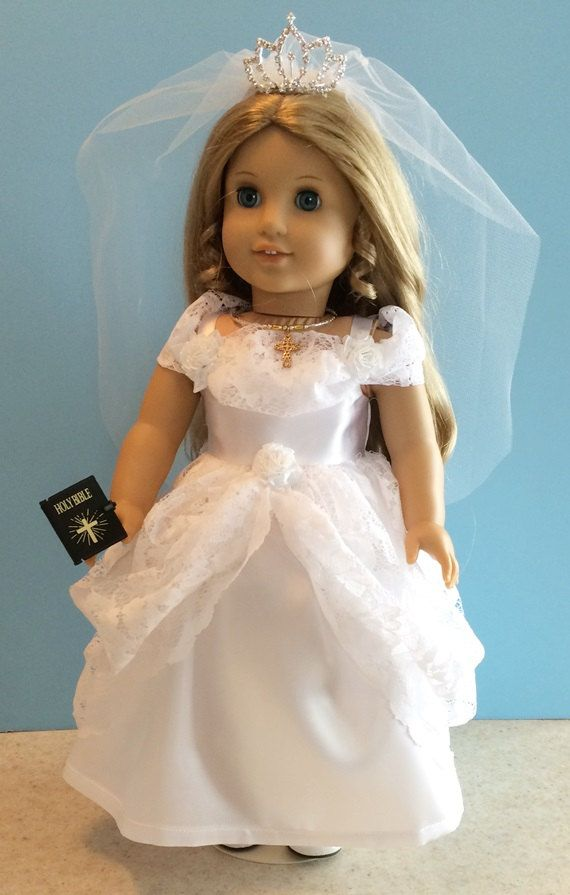 American Girl Doll Clothes  Priness First by Magicgeniecrafts