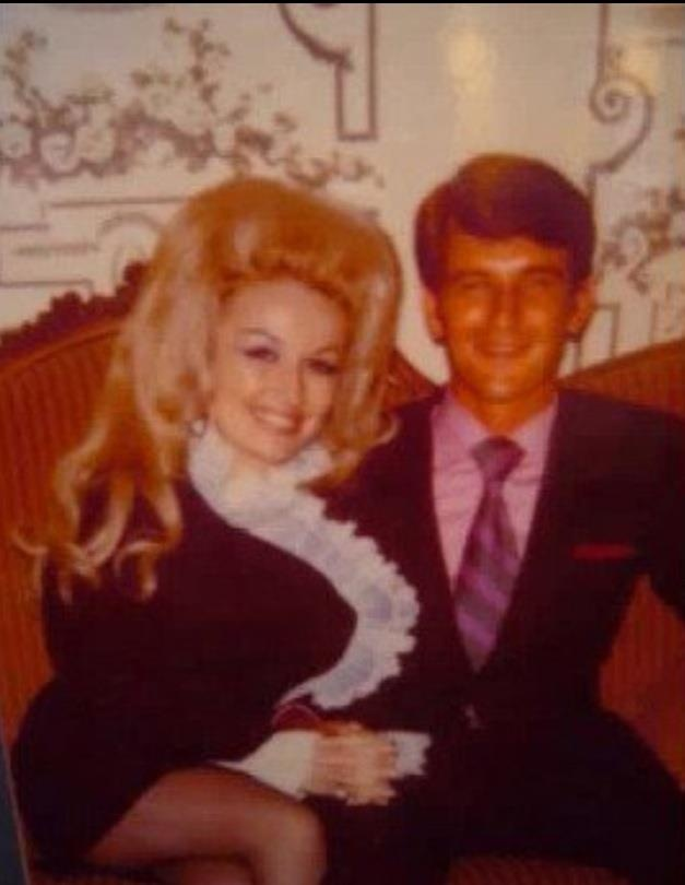 Dolly Parton Dean with her husband Carl Dean