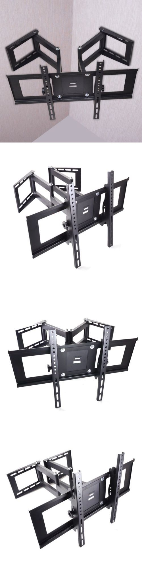 TV Mounts and Brackets: Corner Tiltandswivel Tv Wall Mount Bracket For 26-70 Samsung Lg Vizio Led Lcd -> BUY IT NOW ONLY: $37.99 on eBay!