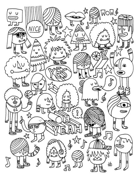 Unused Coloring Book Page
